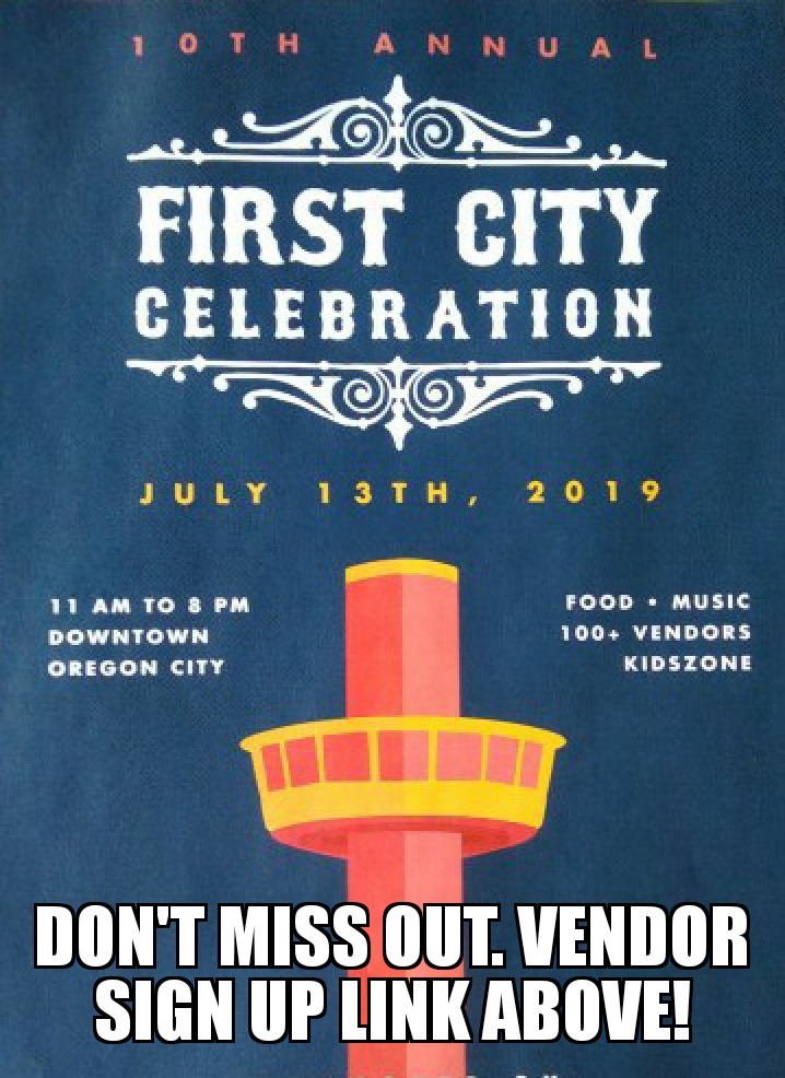 10th Annual Downtown Oregon City First City Celebration